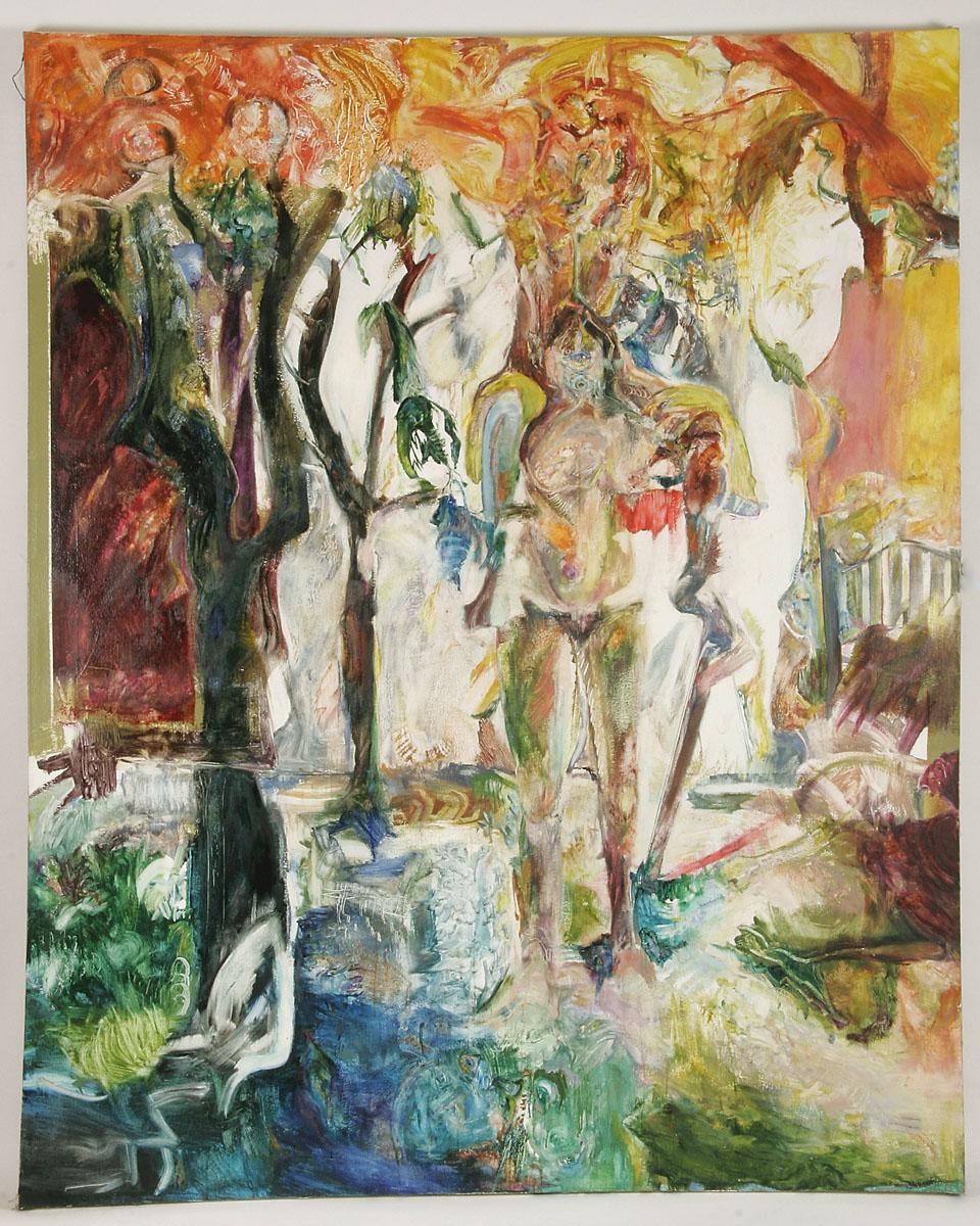 Abstract - Garden of Eden - Barbara Davis Lawrence